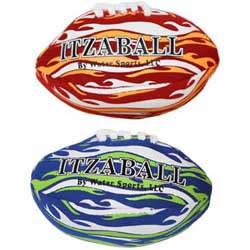 "ItzaMiniFootball 4"" Mini Footballs, Pack of 2"