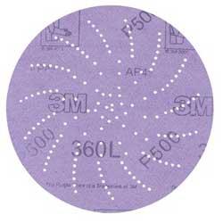 3M Clean Sanding Disc 360L, 5, P600, (100)