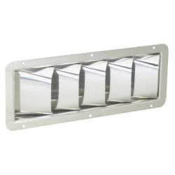 Stainless-Steel Louvered Vent