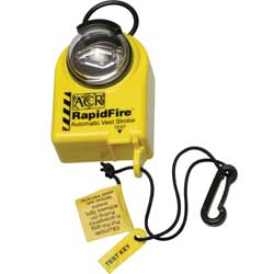RapidFire Strobe Light for Inflatable PFD