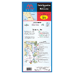 St. Augustine to Melbourne Waterproof Chart, 2nd Edition