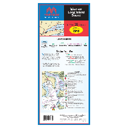 Western Long Island Sound Waterproof Chart, 3rd Edition