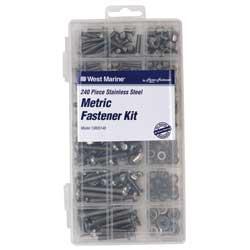 240-Piece Stainless Steel Metric Fastener Kit