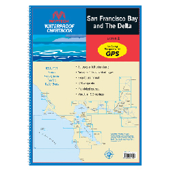 San Francisco Bay and The Delta 2013 Waterproof Chart, 2nd Edition