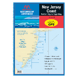 New Jersey Coast: Raritan Bay to Cape May 2013 Waterproof Chartbook, 3rd Edition