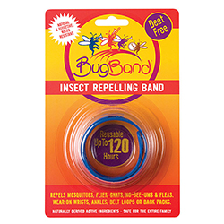 Insect Repellent Wristband, Blue