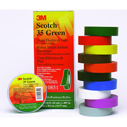 Scotch® #35 Vinyl Electrical Color-Coding Tapes