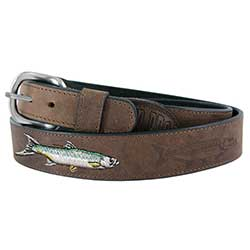 Men's All Leather Tarpon Belt