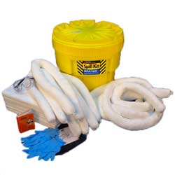 Oil Spill Kit, 20 Ga. Container