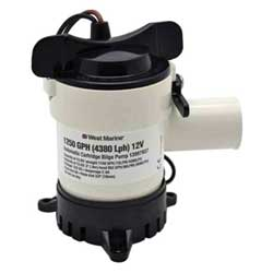 Cartridge Bilge Pump, 1250 gph