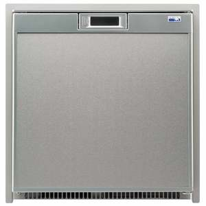 Universal Voltage Marine Refrigerator, Stainless Steel, 3cu.ft.