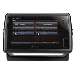 "GPSMAP® 721 Chartplotter with a 7"" Touchscreen Display"