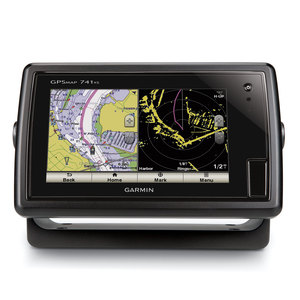 GARMIN GPSMAP® 741xs Fishfinder/GPS Combo, US Coastal/Inland maps, No Transducer
