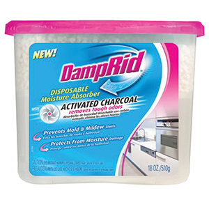 Disposable Moisture Absorber with Activated Charcoal, 18 oz.