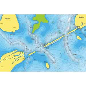 Navionics+ Preloaded Coastal and Inland Chart for US and Canada, MicroSD Card