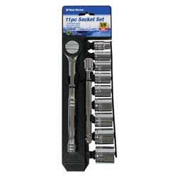 11-Piece SAE & Metric Socket Sets