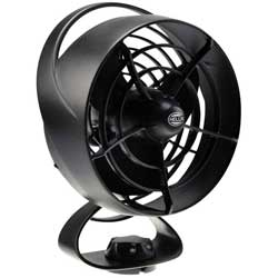 Turbo 2.0 Oscillating Fan, Black