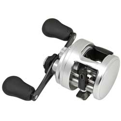 "Calcutta 201 D Baitcasting Reel, Left Hand, 11 lb. Drag, 4+1 BB, 5.7:1 Gear Ratio, 25"" Line Speed, 190/10lb. Yd/Tst, 9.35 oz."
