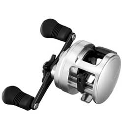 Calcutta D Baitcasting Reel, Left, 27 Line Retreive, 12/330, 14/260, 20/161 Mono Line Capacity, 15 Max Drag, 2 BB, 5.1:1 Gear Ratio, 11.8 oz.