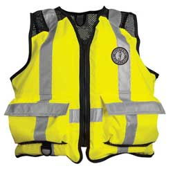 ANSI-Approved Industrial Mesh Life Jacket