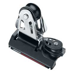 CB Adjustable Genoa Lead Car, Small Boat, 4:1