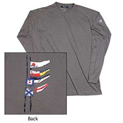 Men's Admiral Flag Long-Sleeve Tee