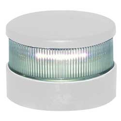 Series 34 LED Navigation Light, All Round White, White Housing