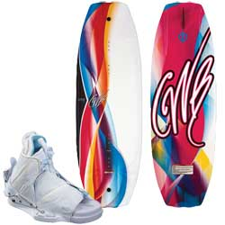 Lotus 134 Wakeboard Combo with Bliss Boots L/XL