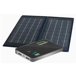6W Folding Solar Device Charger and Power Bank 5.0