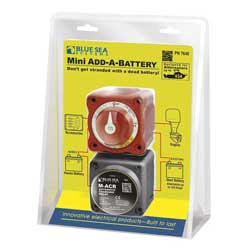 "Mini ""Add-A-Battery"" System"