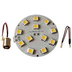 Dome Light LED Kit, 12V, Red/White Light