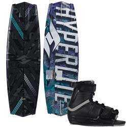 Tribute Wakeboard with Focus Bindings