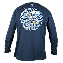 Men's Marlin Medallion Blend Long-Sleeve Tee