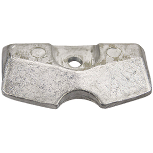 Zinc Anode For Propane-Powered Outboard Engine, Transom