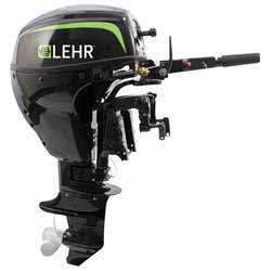 9.9hp Propane Powered Outboard Engine, Short Shaft, Electric Start