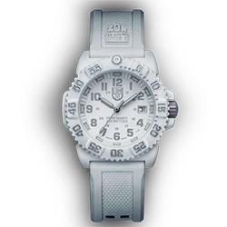 Luminox Colormark 38MM 7050 Series Watch, White