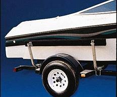 C E Smith Carpeted Bunk Board Boat Guides - 5'