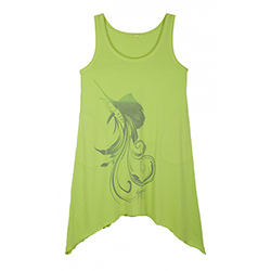 Women's Sailfish Swirl Tank Dress