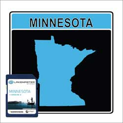 LakeMaster® Minnesota, SD Map Card
