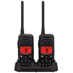 HX100 2.5W Floating Handheld VHF Twin Pack
