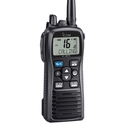 ICOM M73 Submersible Handheld VHF Radio