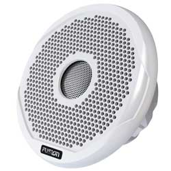 "FUSION Full Range Waterproof Marine Speaker, 6"", 200W"