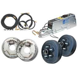 "Complete Drum Brake Installation Kit, 10"", 660 Actuator"