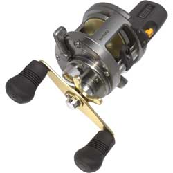 "Tekota 300 Line Count Conventioanl Reel, 25"" Line Speed, 12/275, 14/220, 16/185 Yd/Tst, 18 lb. Drag, 3 BB/1 RB, 4.2:1 Gear Ratio, 14.3 oz."