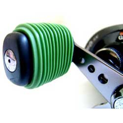 Reel Grip Handle Cover, Green, (pair)
