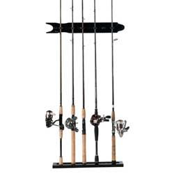Modular Wall Rod Rack, Black