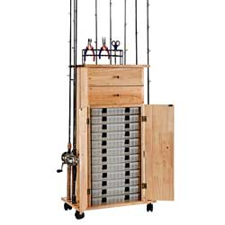 Rod Rack Utility Box Cabinet
