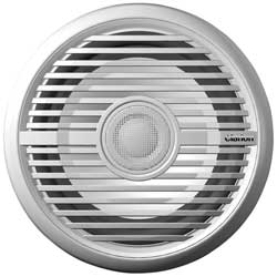 "2-Way Marine Coaxial Speaker, Water Resistant, 6 1/2"", 100W"