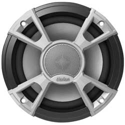 "Marine High Performance Coaxial Speakers, 6.5"", 120W, Pair"
