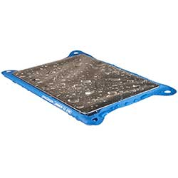 TPU Guide Waterproof Case for iPad, Blue